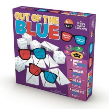 The Happy Puzzle Company Out Of The Blue Dice Set & Game