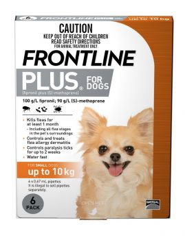 FRONTLINE PLUS SMALL DOG 6PACK