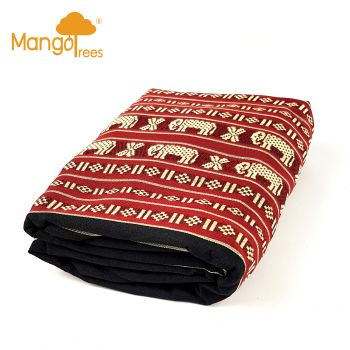 [MANGO TREES] Cover Protector For Thai Triangular Mattress Daybed
