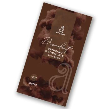 Decadent Drinking Chocolate (21% Cocoa) mix 1kg