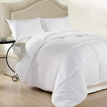 Royal Comfort 500GSM Plush Duck Feather Down Quilt Ultra Warm Soft - All Seasons