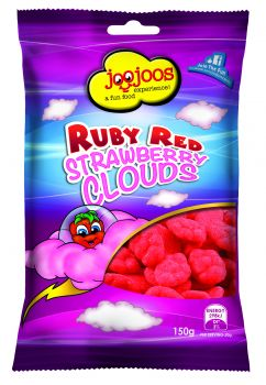 RUBY RED STRAWBERRY CLOUDS 150g x 12