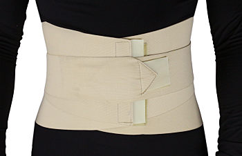 Abdominal Support Wrap with Metal Stays