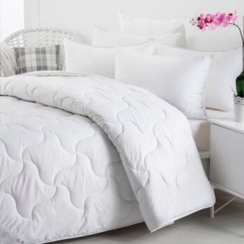 Wooltara Imperial Luxury 450GSM Washable Winter Australia Wool Quilt - Single Bed