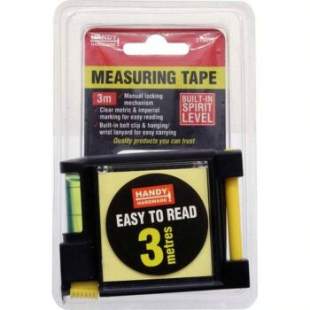 Tape Measure with Level 3 Mtr