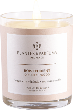 180g/6.34 oz Perfumed Hand Poured Candle - Oriental Wood