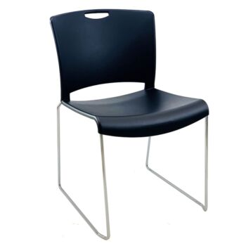 STARLIGHT Navy Blue AFRDI Stacking Visitor School Cafe Chair