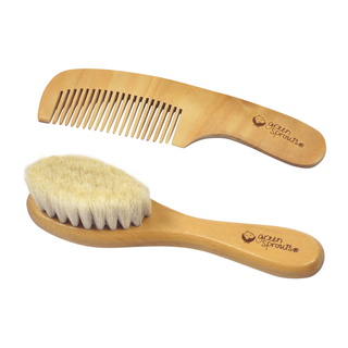 Baby Brush & Comb-Natural-Adult use only