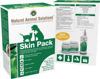 NATURAL ANIMAL SOLUTIONS SKIN PACK 50G
