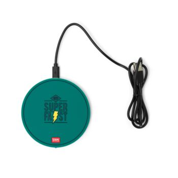 Super Fast - Smartphone Wireless Charger - Petrol