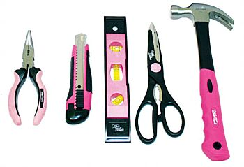 31pc HER TOOLS KIT PINK