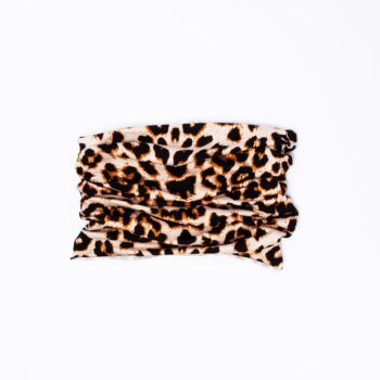 Active Snood  (Facemask for Exercise) - Leopard