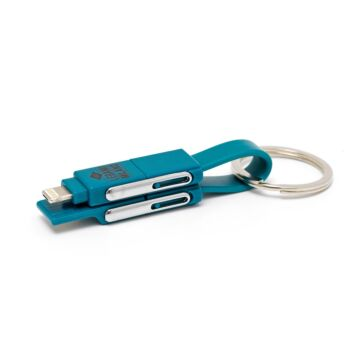 6 in 1 - Keychain Charging Cable