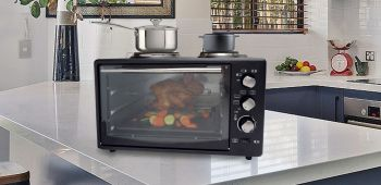 ELECTRIC OVEN W/ROTISSERIE