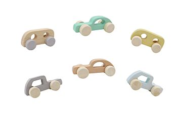 CALM & BREEZY WOODEN CAR IN DISPLAY BOX