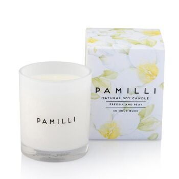 Natural Soy Candle - Freesia & Pear