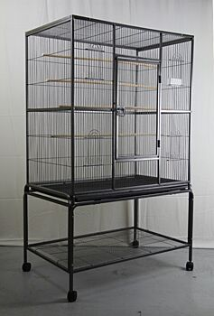 140 cm Large Bird Cage Parrot Budgie Aviary With Stand