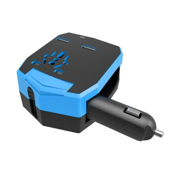 Joyroom Universal Travel Power Adapter With USB & Car Charger