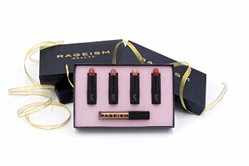 Rageism Beauty Gift Pack - Lipstick and Lipgloss - beautifully presented