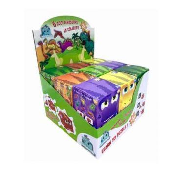 Puzzleheadz Dino 24pce Puzzle assorted ( ONLY SOLD in Display of 18 )