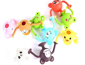 Silicone Suction Toddler Bath Toys 12pk – Entire Zoo Collection