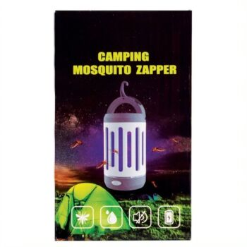UV RECHARGEABLE MOSQUITO LAMP