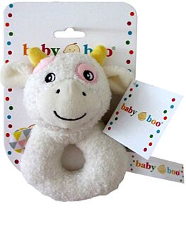 MooCow Baby Soft Toy Rattle - 14CM