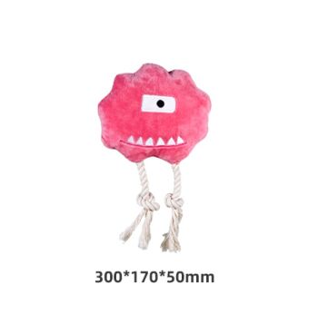 Honeycare Dog Squeaky Toy - Oba Monster