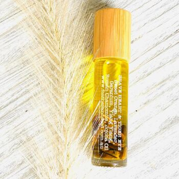Brave Heart & Tiger Eye Pure Eseential Oil Roll On (10ml)