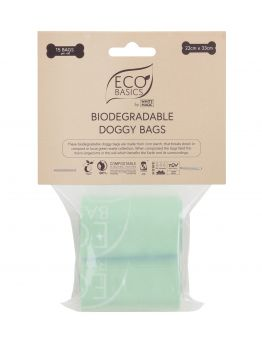 Biodegradable Doggy Bags - 15Bags/Roll