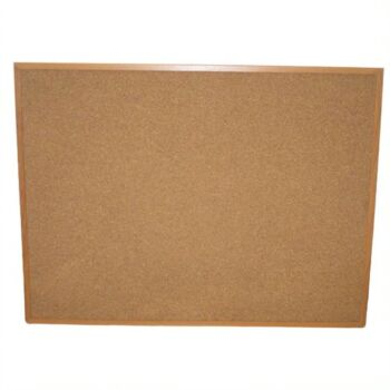 Corkboard with Wooden Frame - 60X80cm