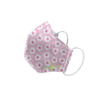 Reusable Face Mask-Pink Blossoms-Child