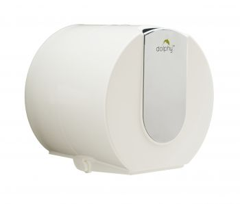 Dolphy Wall Mounted Small Toilet Paper Dispenser - Mirror Finish