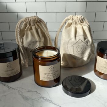 The Apothecary Soy Candle - Amber Moss & Teak