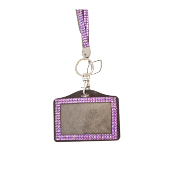 Mad Ally Bling Lanyard- Lilac