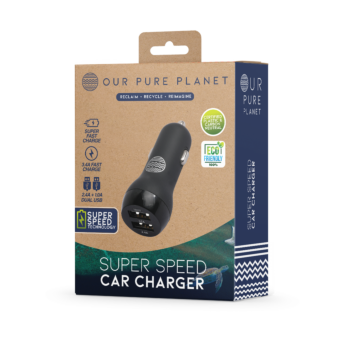 Our Pure Planet Car Charger 2 USB port 3.4A