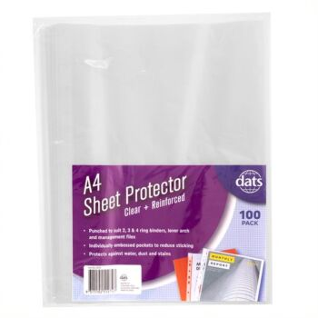 Sheet Protector A4 100 Pack