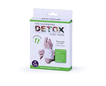 The Cleansing Detox Foot Pads 14 PK