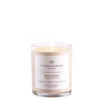 75g Perfumed Hand Poured Candle - Oriental Wood