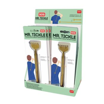 Telescopic Back Scratcher - Display Pack of 10 Pieces