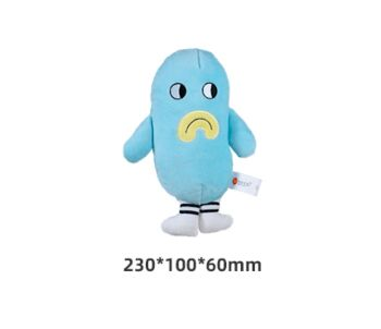 Honeycare Dog Squeaky Toy - Blue Monster