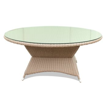 CLIFTON HILL - Outdoor Wicker Large 160cm Round Table