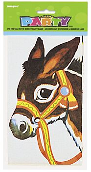 Pin the Tail On the Donkey Blindfold Game
