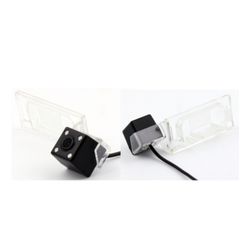 Reversing Rear View CCD Camera for AUDI A4L TT A5 Q5 TT Video Cable & Trigger Wire Night Vision 4 LED Lights Waterproof