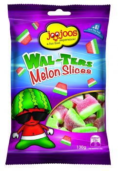 WAL-TERS MELON SLICES 130g x 12