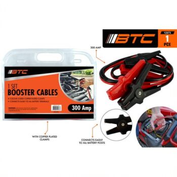 1piece Car Booster Cable 300AMP Colour Coded