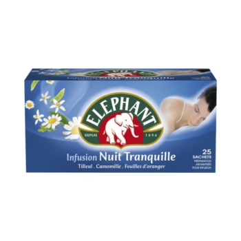 Elephant Nuit Tranquille Infusion 25 Bags