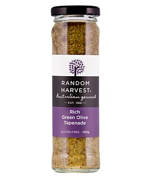 Rich Green Olive Tapenade 140g