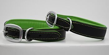 Party Pooch Leather Collar