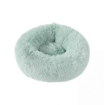 Soothing Calming Donut Pet Bed in Mint 80cm